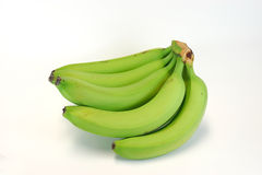 Gröna bananer Royaltyfria Foton
