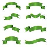 gröna band Arkivbild