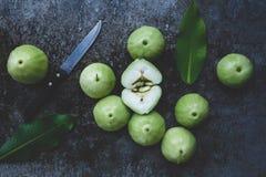 Gröna bergäpplen Royaltyfri Fotografi
