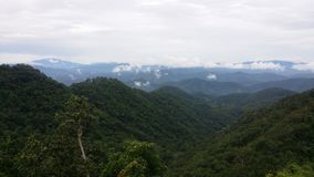 Gröna berg på Samerng Chiangmai Thailand Fotografering för Bildbyråer