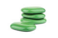 gröna brunnsortstenar Fotografering för Bildbyråer