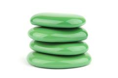 Gröna brunnsortstenar Arkivfoton