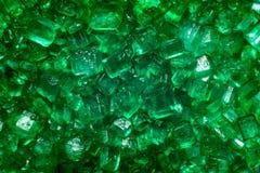 Gröna crystal lollies Royaltyfria Bilder