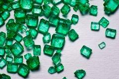 Gröna crystal lollies Royaltyfri Bild