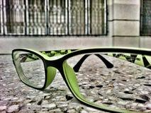Gröna exponeringsglas Royaltyfri Foto