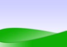 gröna former för bakgrund Arkivbild