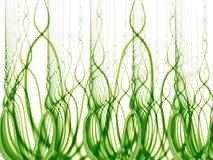 gröna högväxt weeds för gräs royaltyfri illustrationer