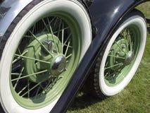 gröna hjul Royaltyfri Foto