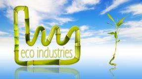 gröna industrier för eco vektor illustrationer