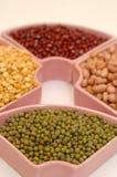 gröna legumes för böna annan Fotografering för Bildbyråer