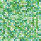 gröna lilla tegelplattor royaltyfri illustrationer