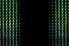 Gröna linjer för abstrakt suddighet Royaltyfri Foto