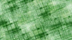 Gröna linjer och snö Royaltyfria Foton