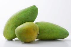 gröna mango Arkivbild