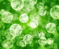 Gröna Microbes texturerar Arkivbild