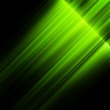 Gröna nordliga ljus, norrsken.  Royaltyfri Foto