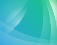 Gröna och blåa Fade Background - abstrakt begrepp Royaltyfri Illustrationer