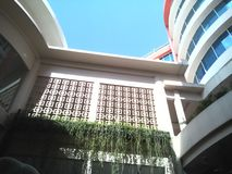 Gröna och trevliga hotell Royaltyfria Bilder