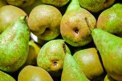 Gröna päron Arkivbilder