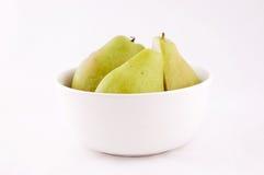 gröna pears Fotografering för Bildbyråer