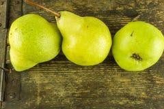 gröna pears Arkivbilder