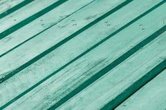 Gröna plankor Fotografering för Bildbyråer
