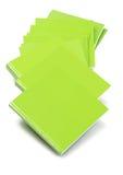 Gröna räkningsböcker Royaltyfria Bilder