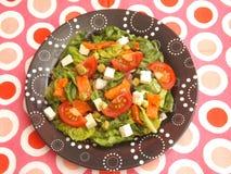 1 gröna sallad royaltyfria bilder