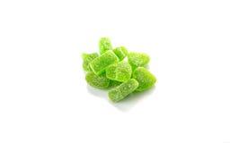Gröna Sugar Jelly Candy VI Fotografering för Bildbyråer