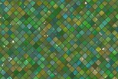 Gröna väggtegelplattor Arkivbilder