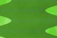 gröna waves Royaltyfri Foto