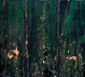 Gröna wood bräden fotografering för bildbyråer