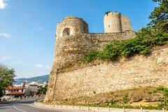 Grönkålfästning som byggs av byzantinesna i det 6th århundradet Royaltyfri Fotografi