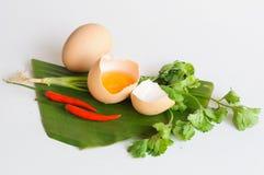 Grönsak för äggblandningchili Fotografering för Bildbyråer