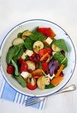 grönsak för bönaostsallad Arkivfoto