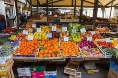 grönsak för egypt fruktmarknad Arkivfoton