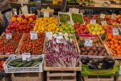 grönsak för egypt fruktmarknad Arkivbild