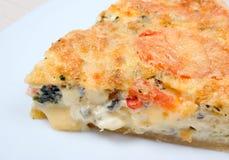 grönsak för home pie för ost smaklig royaltyfri fotografi