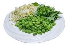 Grönsak för jäste nudlar för rismjöl Arkivfoton