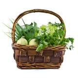 grönsak för korg s Royaltyfria Foton