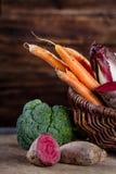 grönsak för korg s Royaltyfri Fotografi