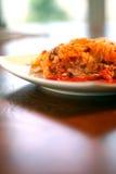 grönsak för lasagna 2 Arkivfoton