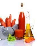 grönsak för ny fruktsaft för morot rå Fotografering för Bildbyråer