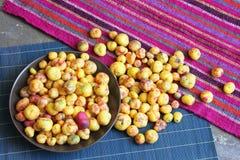 Grönsak för peruanOlluco knöl Royaltyfri Foto