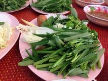 Grönsak med ägget Royaltyfria Foton