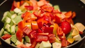 Grönsak Stew Royaltyfria Bilder