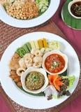 Grönsak thailändsk mat royaltyfri foto