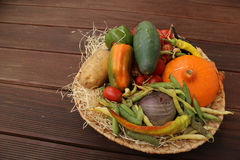 Grönsakblandning Arkivfoto