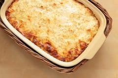 Grönsakcasserole royaltyfria bilder
