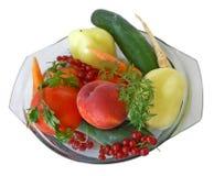 grönsaker för 1 frukt Arkivbilder
